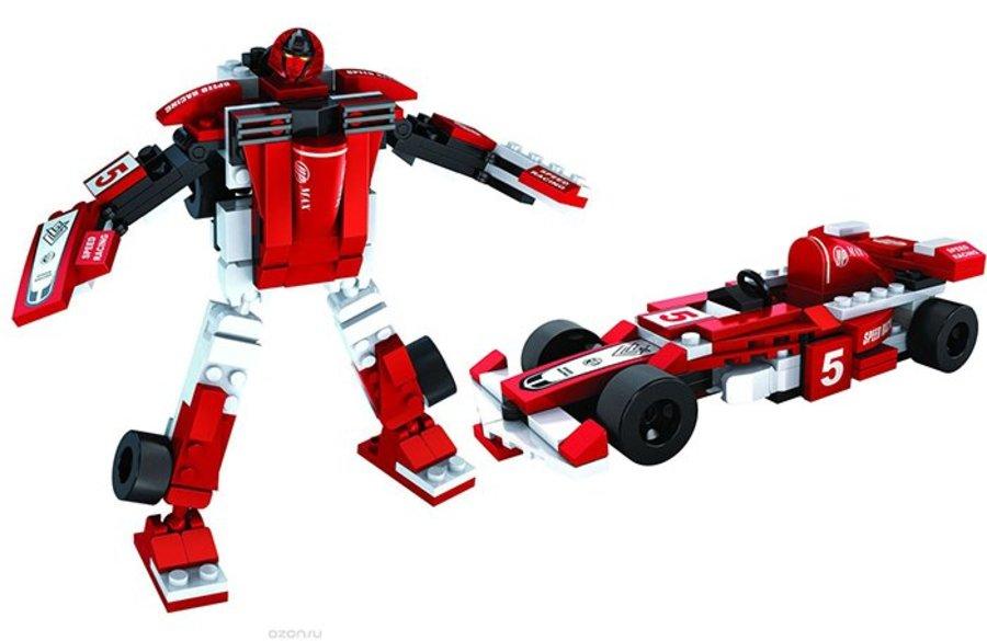 Đồ Chơi Lắp Ráp Ausini - Robot Biến Hình Xe F1 AUS 25423 (132 Miếng)