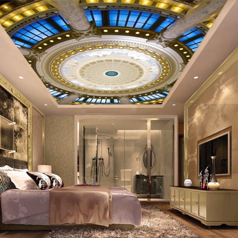 Tranh dán trần nhà 3D FQ420