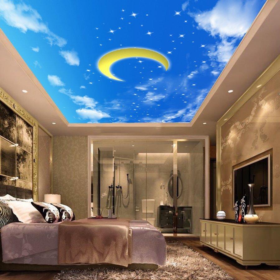 Tranh dán tường trần nhà 3D JM-1585A