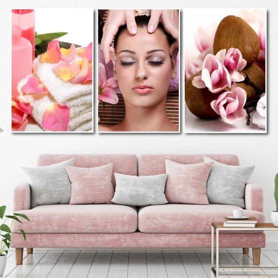 Tranh treo tường Spa massage thư giãn 2