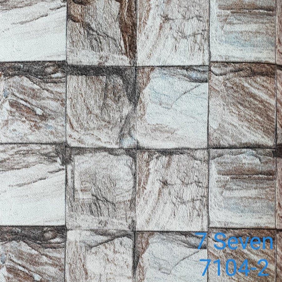 Map giấy dán tường texture giả đá 7 Seven 7104-2