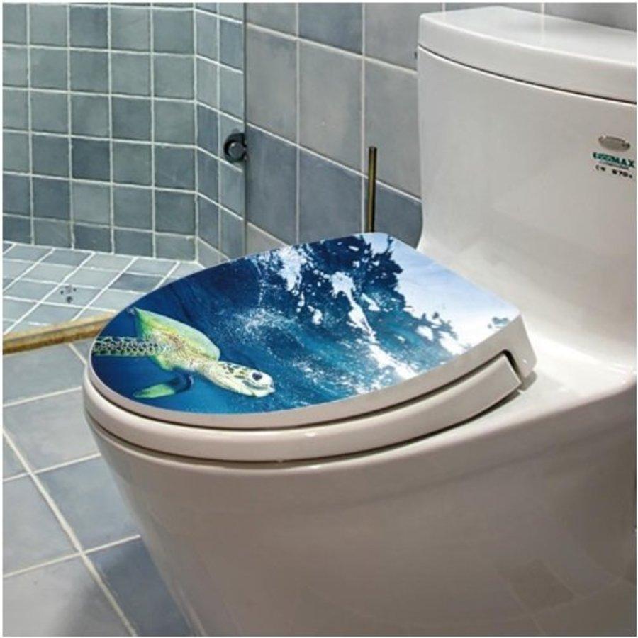 Dán toilet rùa biển