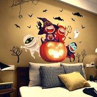 Decal Dán Tường Halloween