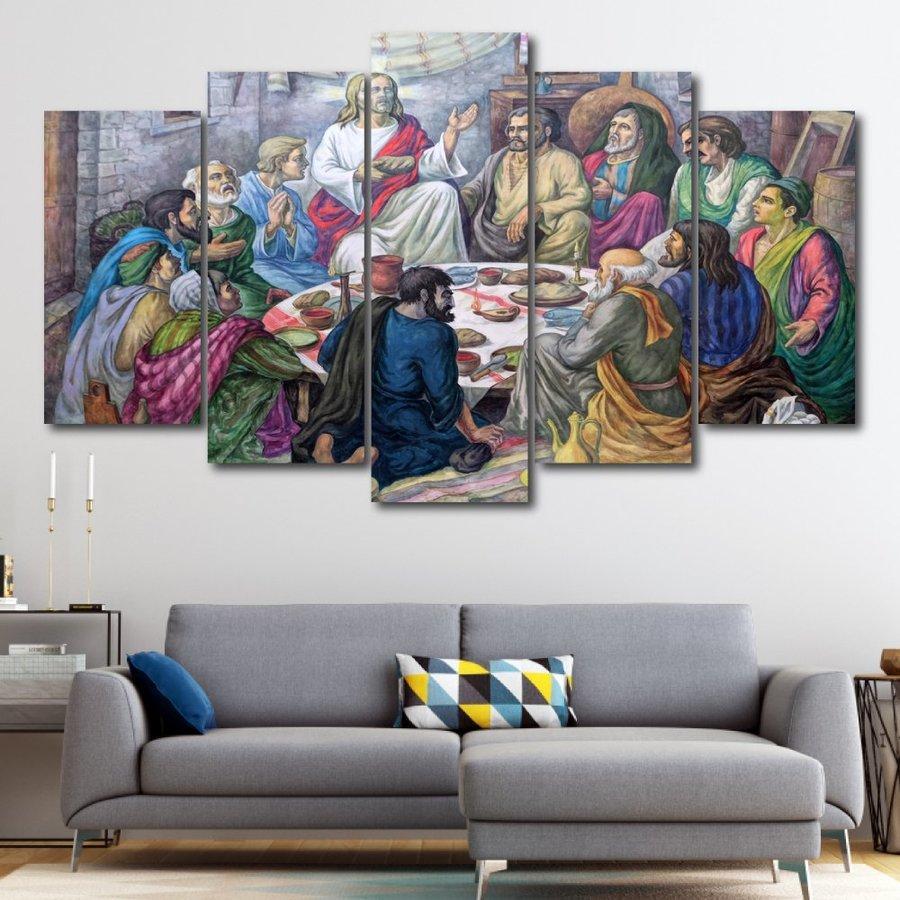 Tranh treo tường tiệc thánh 2