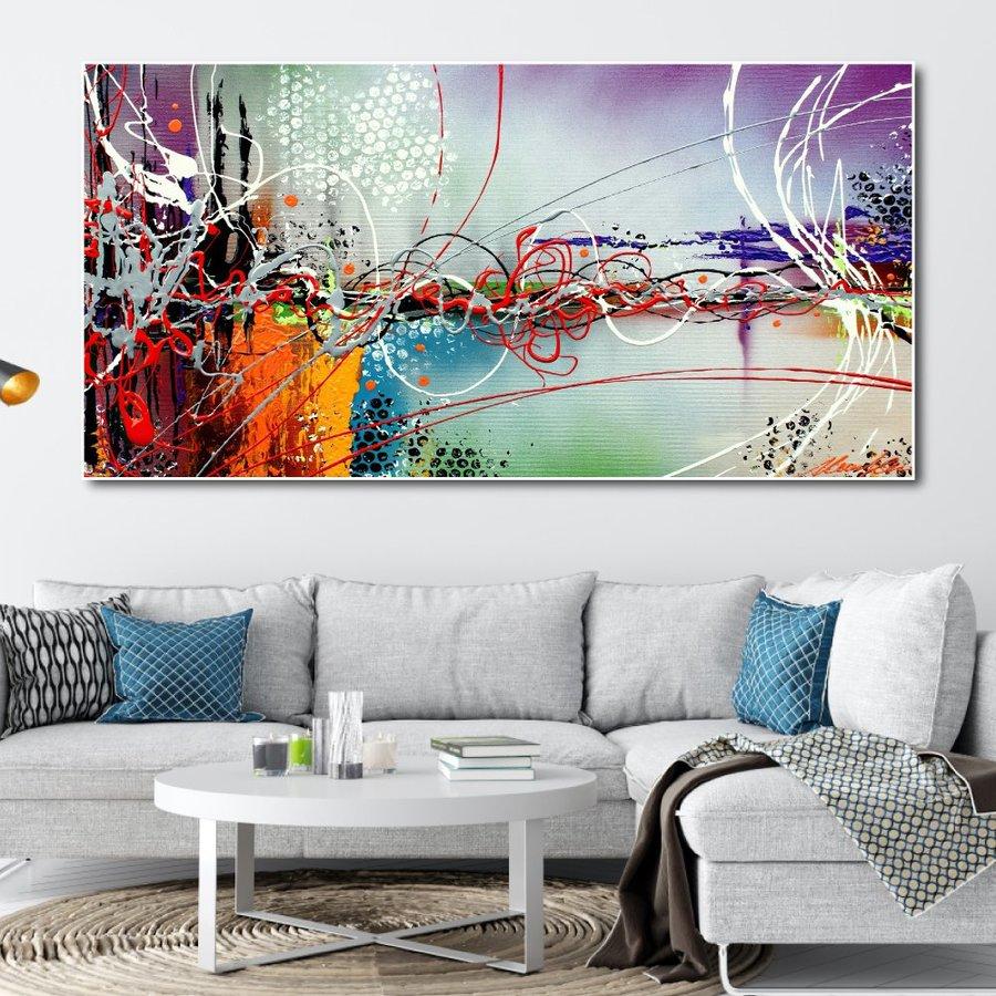 Tranh treo tường nghệ thuật màu sắc 3