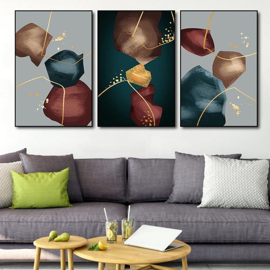 Tranh treo tường nghệ thuật sắc màu 6