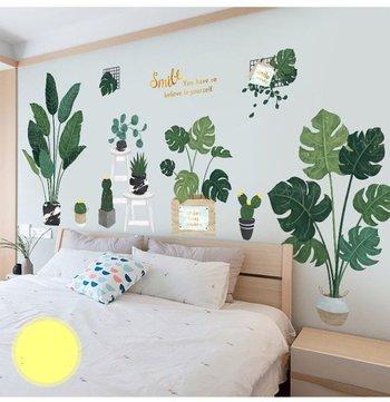 255 mẫu giấy decal dán tường phòng khách, phòng ngủ đẹp 2021
