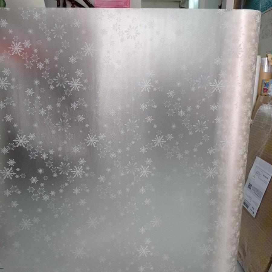 Giấy decal cuộn dán kính mờ bông tuyết