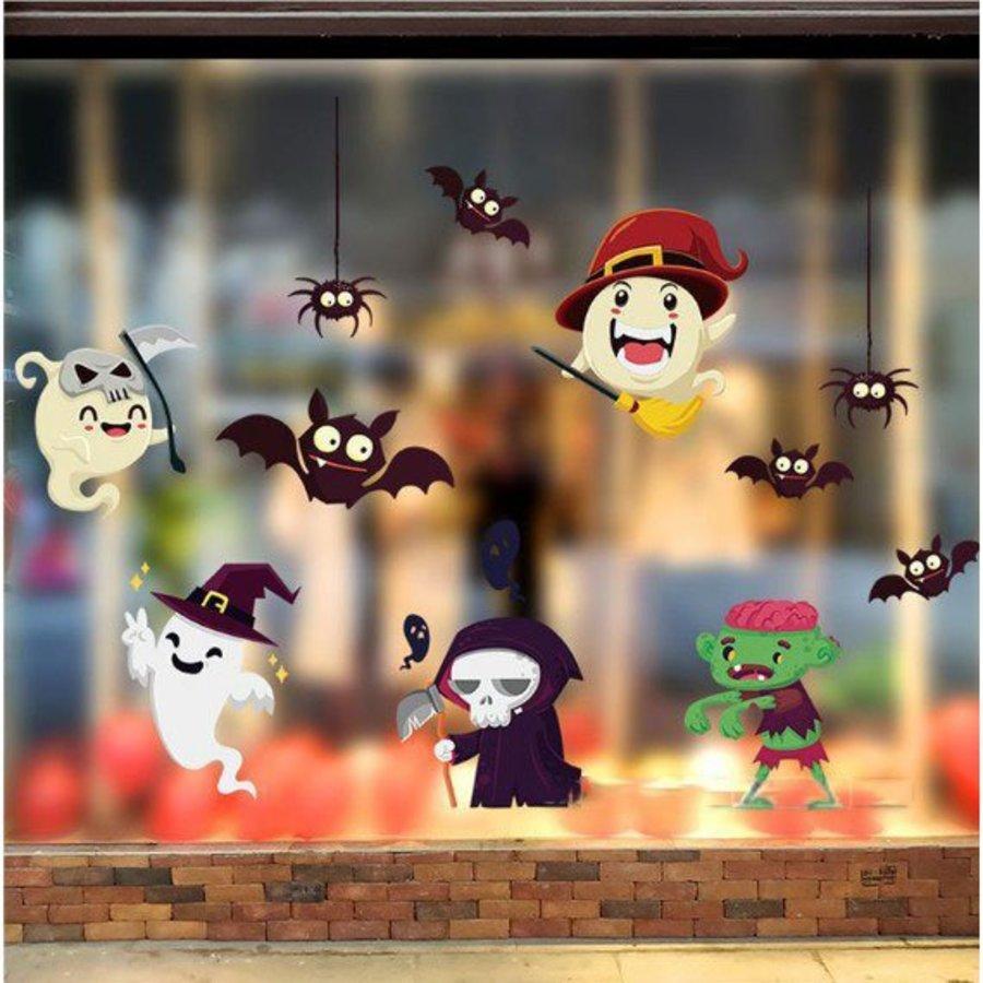 Decal trang trí halloween lễ hội halloween