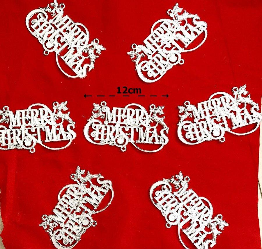 Đồ Trang Trí Noel bộ 10 chữ Merry Christmas
