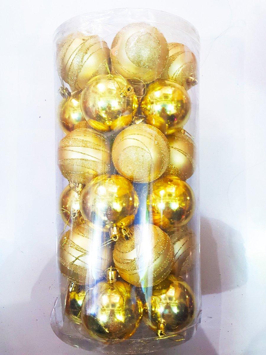 Đồ trang trí noel hộp châu cao cấp 8cm