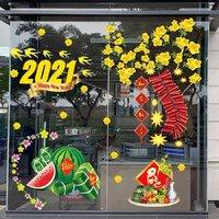 Decal Trang Trí Tết 2021