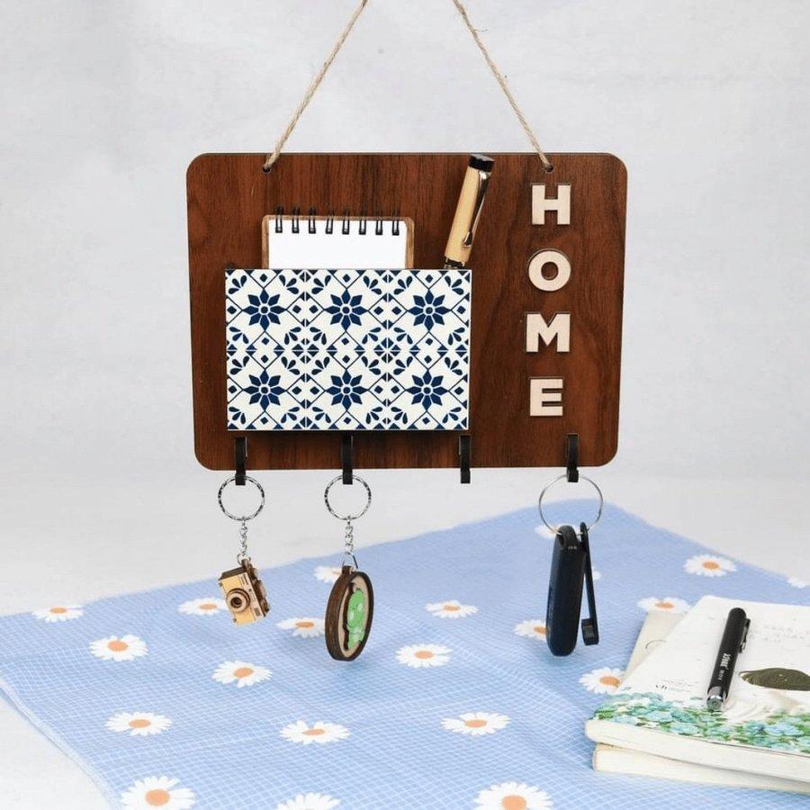 Bảng gỗ handmade trang trí nhà Home mẫu 02