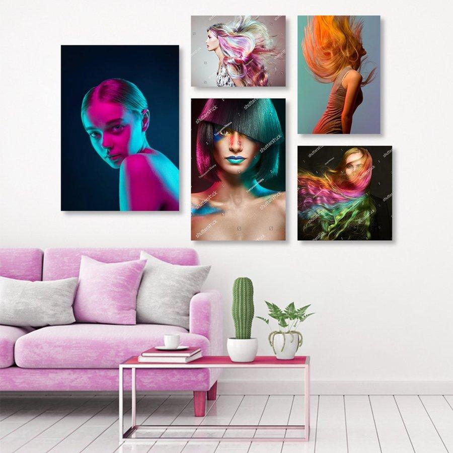 Tranh treo tường nghệ thuật sắc màu 3