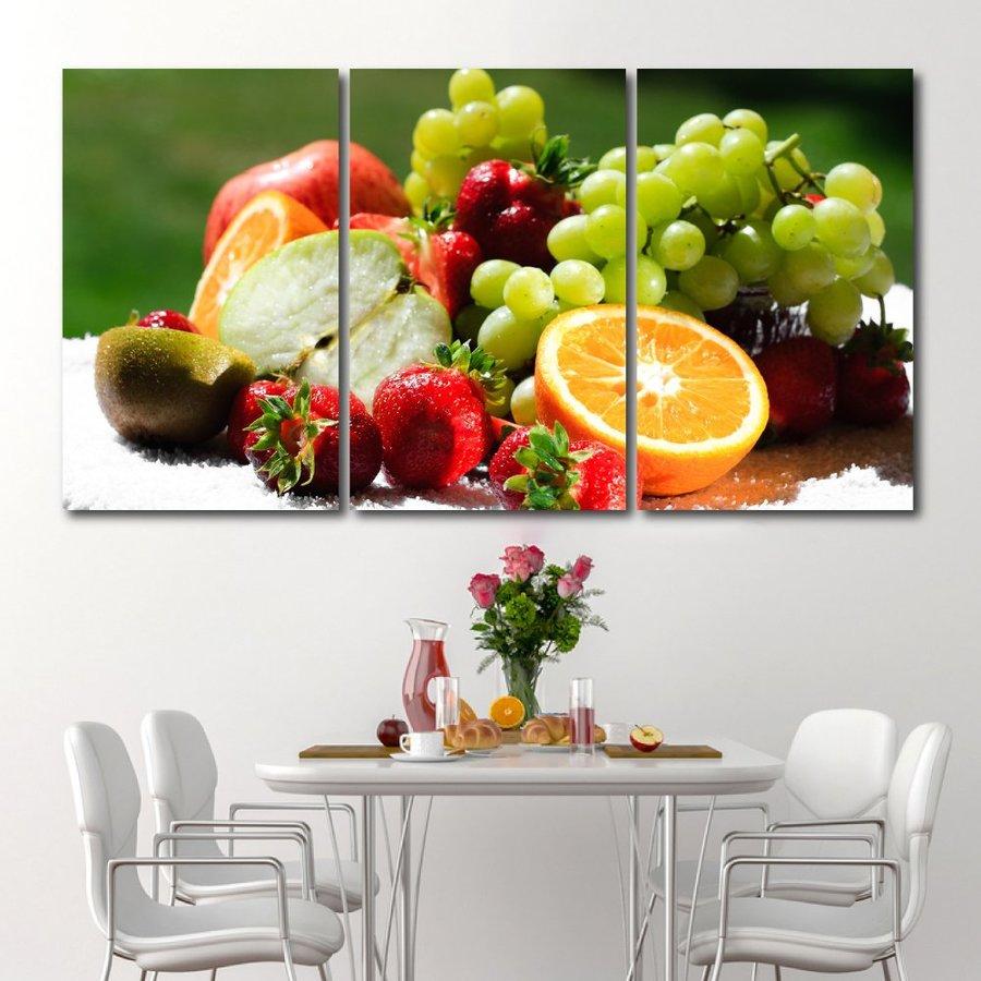 Tranh treo tường trái cây 25x40x3