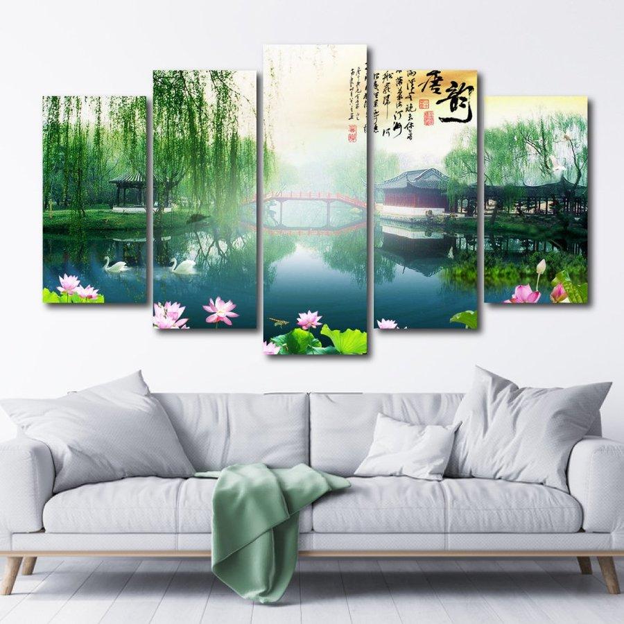 Tranh treo tường phong cảnh thiên nhiên hữu tình