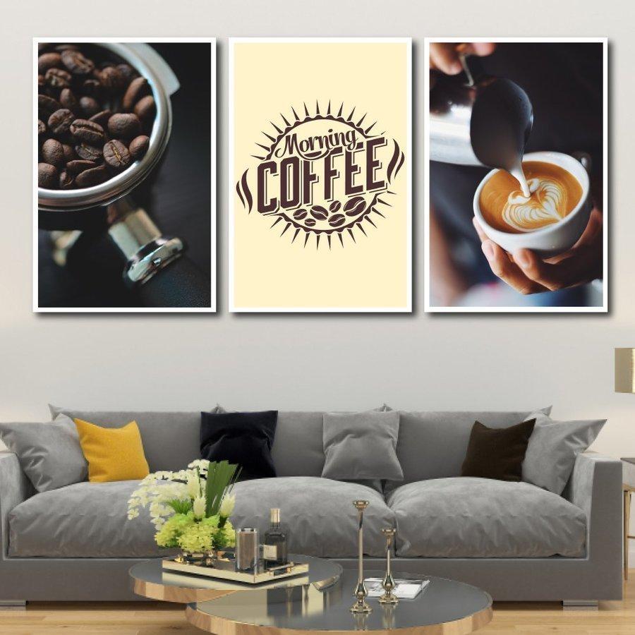 Tranh treo tường morning coffee (S)