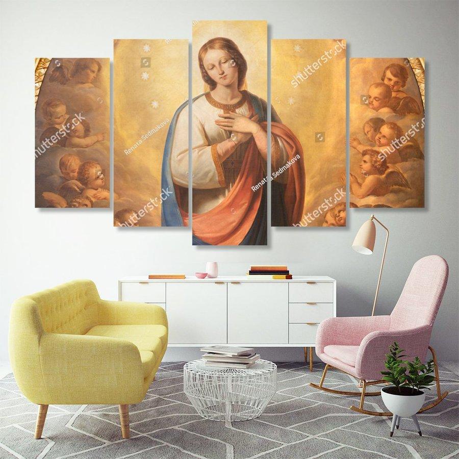 Tranh Treo Tường Đức Mẹ Maria 8
