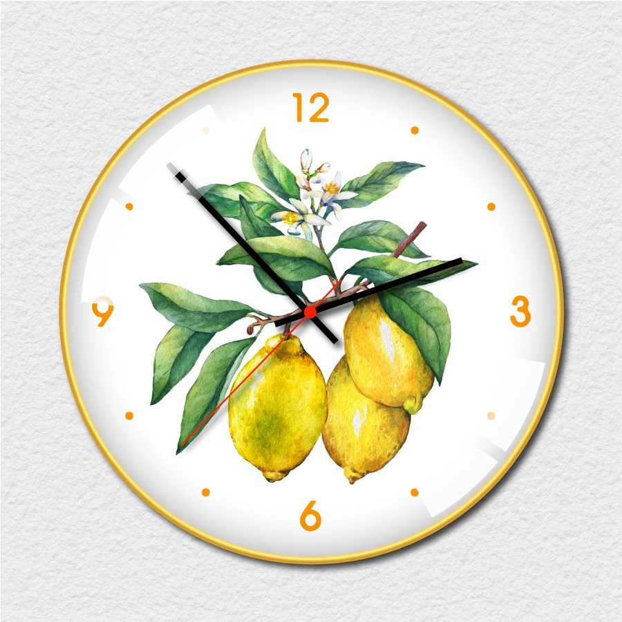 Đồng hồ vintage chanh vàng