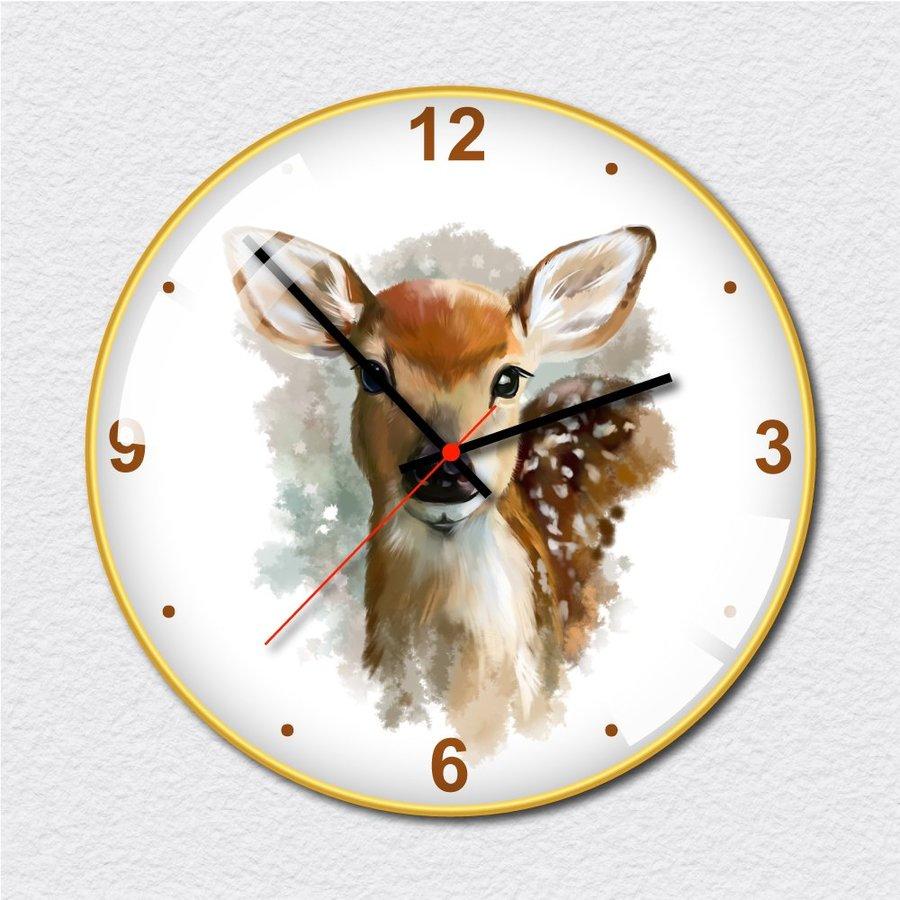 Đồng hồ vintage chú nai nhỏ