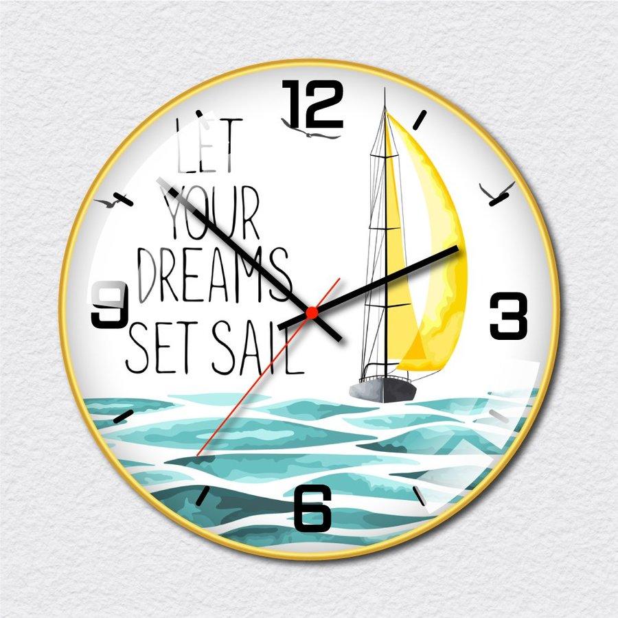 Đồng hồ vintage Chiếc Thuyền Ra Khơi