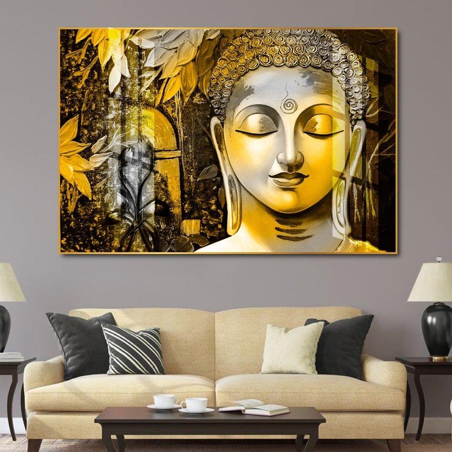Tranh treo tường Phật giáo an lạc