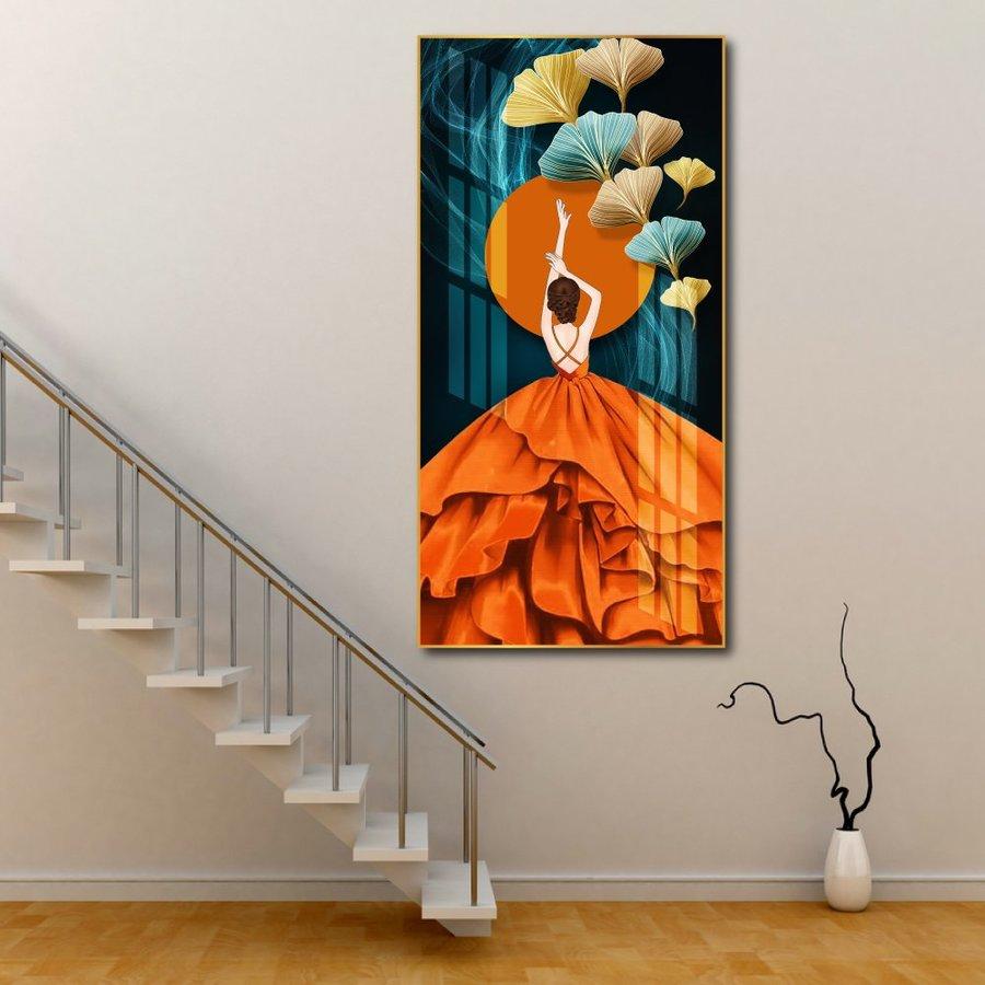 Tranh treo tường cô gái nghệ thuật 10