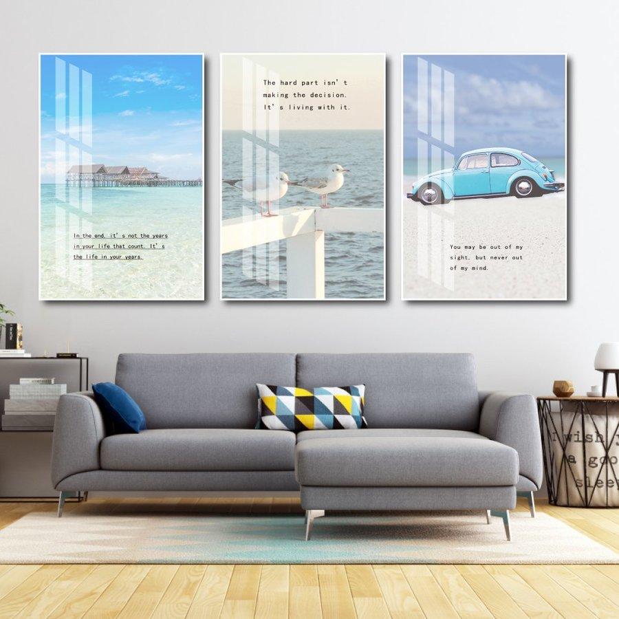 Tranh treo tường phong cảnh du lịch biển (KE059)