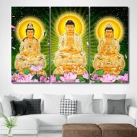 Tranh Tam Thế Phật
